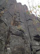 Rock Climbing Photo: One of the few hand cracks.