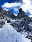 Rock Climbing Photo: Alpine ice.