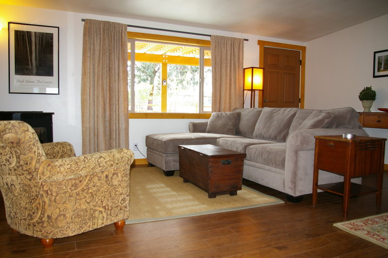 Beautifully Furnished Home:  Sleeps up to four with two queen beds, quiet location and private yard.