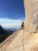 Rock Climbing Photo: 3rd pitch 5.6