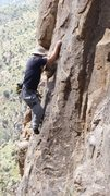 Rock Climbing Photo: Rockin' the wide-brimmed hat on Aspen Gold. Why ye...