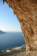 Rock Climbing Photo: A view from inside the Grande Grotta