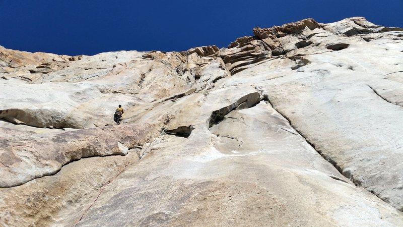 Rock Climbing Photo: Headwall