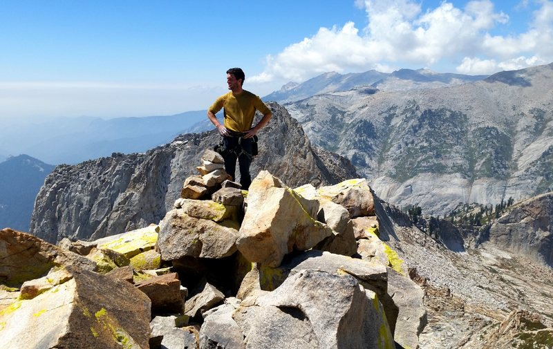 The summit views are fantastic. Especially towards the Prism, Saber Ridge, Black Kaweah and Hamilton Dome/towers.