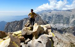 Rock Climbing Photo: The summit views are fantastic. Especially towards...