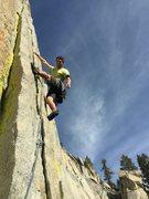 Rock Climbing Photo: steep, mostly cruiser to start