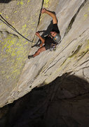 Rock Climbing Photo: steep, thin, wild to end