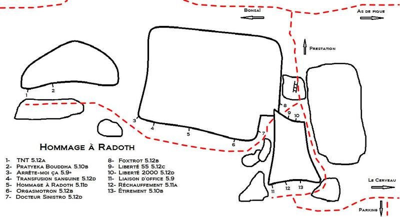 Hommage à Radoth<br> (voies/routes)