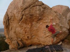 Rock Climbing Photo: This rock is really razor sharp and crumbly as cra...