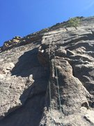 Rock Climbing Photo: work