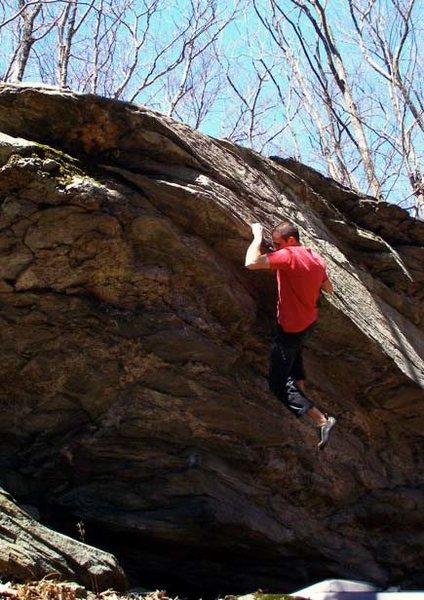 Rock Climbing Photo: Kal-el, V7