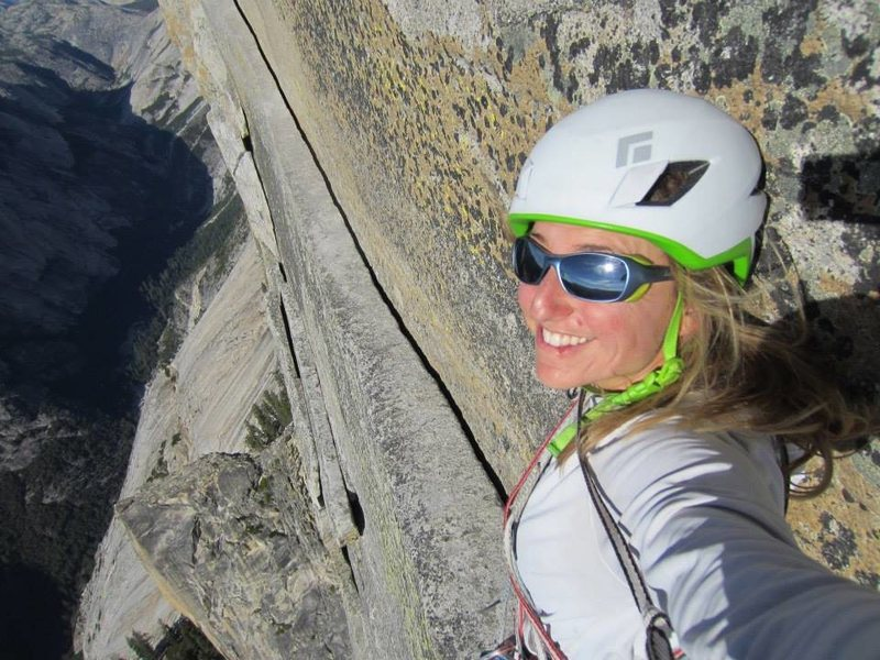 Thank God Ledge, a year before the rock fall on Half Dome.
