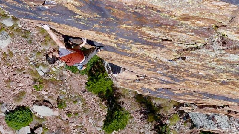 Rock Climbing Photo: A scramble up The Doub-Griffith.  Photo by Cedar W...