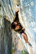 Rock Climbing Photo: Pimp coat throws on the thuggy classic! Photo by F...