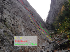 Rock Climbing Photo: Border Country base area