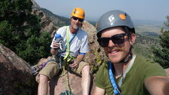 Dave and I at the top!