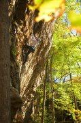 Rock Climbing Photo: Monks Brew Action. October 2015.