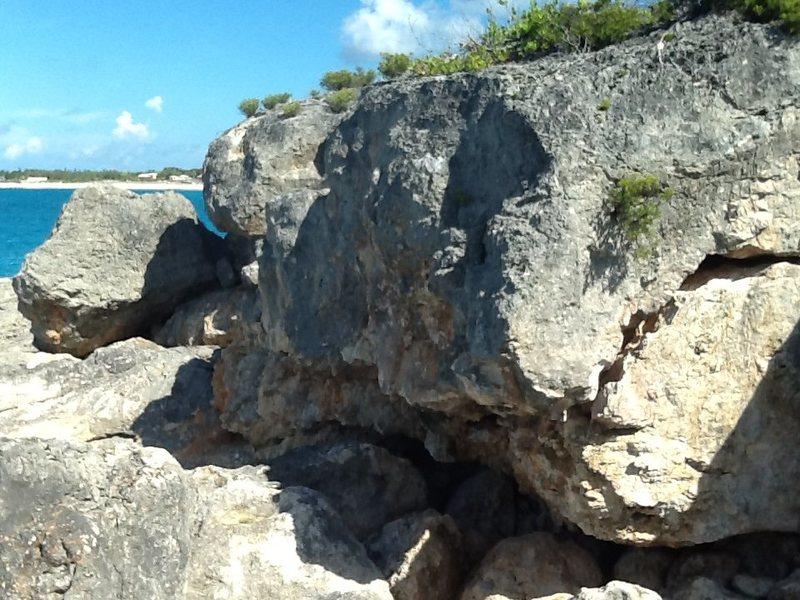 Rock Climbing Photo: The wolf, overhanging Boulder 13 ft medium difficu...