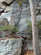 Rock Climbing Photo: Start of TUaB
