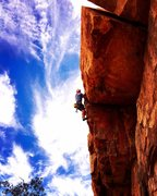 Rock Climbing Photo: Definitely worth the walk for this one!