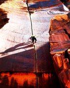 Rock Climbing Photo: Shadowboxing on SuperCrack