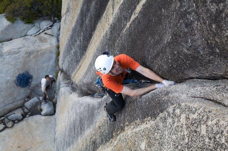 "Rock Climbing Photo: ""Lord Caffeine"" (5.10d)"
