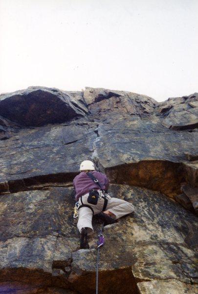 Climbing A Dare.