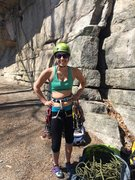 Rock Climbing Photo: Ready to climb at the Gunks, NY!