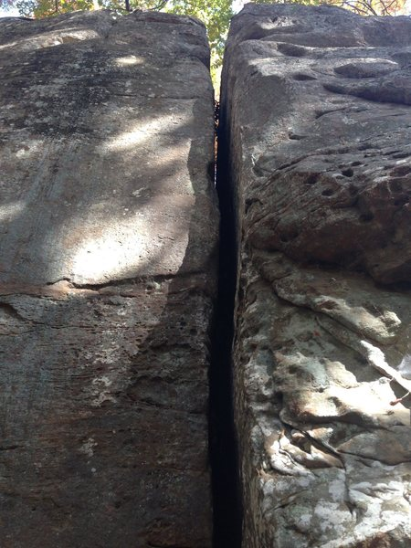 Rock Climbing Photo: Wide crack