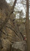 Rock Climbing Photo: The face to the right of the crack is a fun TR.  5...