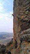 Rock Climbing Photo: Rest after crux