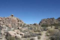 Rock Climbing Photo: A closer view of the Main Gate Rock formations, Jo...