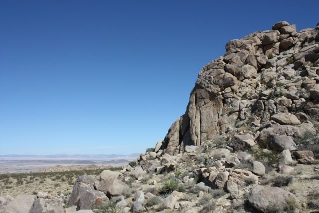 Main Gate Rock (Right Crag), Joshua Tree NP