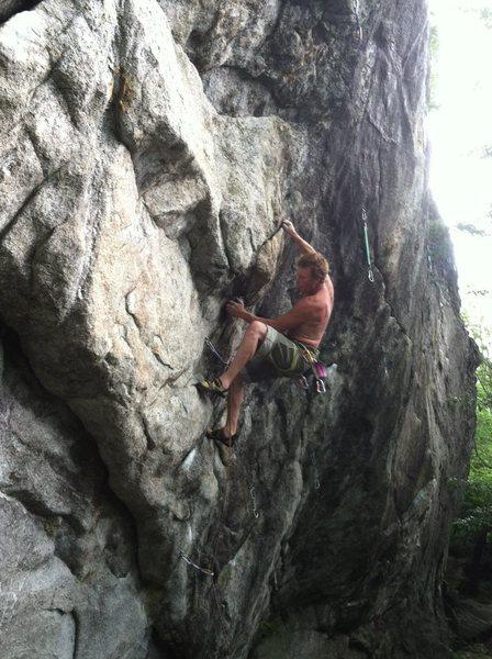 Rock Climbing Photo: john weaver - bolter -