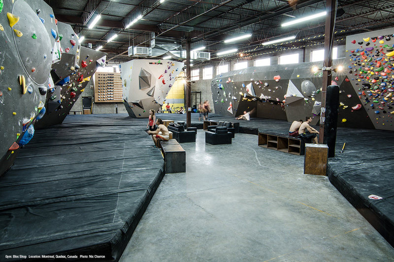 Rock Climbing Photo: Bloc Shop 2