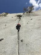 Rock Climbing Photo: Little cottonwood