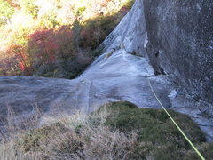 Rock Climbing Photo: lower pitches
