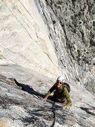 Rock Climbing Photo: Jay on God's Grace, Rabbit Ears