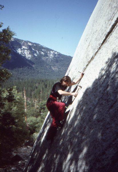 Rock Climbing Photo: Rock Neurotic - First Ascent