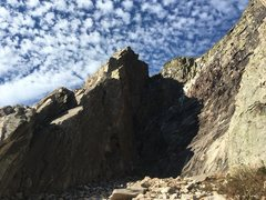 Rock Climbing Photo: The ridge on a blustery October day.