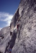 Rock Climbing Photo: Bob Kamps on Ursula - 1986