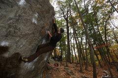 Rock Climbing Photo: x-through on Neils