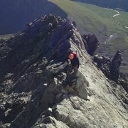 Rock Climbing Photo: Kelso Ridge Knife edge