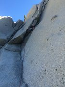 Rock Climbing Photo: Starting Hatchet Crack