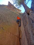Rock Climbing Photo: Jason on Methedras.