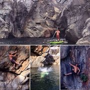 Rock Climbing Photo: Tons of water boulders in Emerald Pools. You can b...