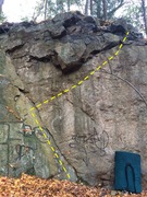 Rock Climbing Photo: Dihedral Exit Right.