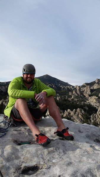 Rock Climbing Photo: Top of Lost Arrow Spire city of the rocks