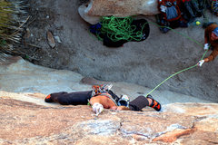 Rock Climbing Photo: The excitement of making that clip can be seen in ...