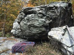 Rock Climbing Photo: South end of the boulder where Man Chester is loca...